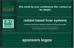 Radiant Based HVAC