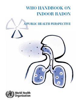 WHO_Radon