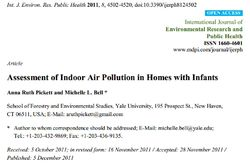 Assessment of Indoor Air Pollution in Homes with Infants